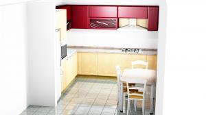 Proiect bucătărie la comandă Norvinia nr.295