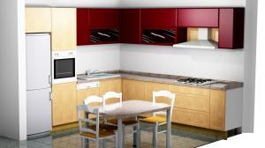 Proiect bucătărie la comandă Norvinia nr.293