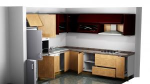 Proiect bucătărie la comandă Norvinia nr.292