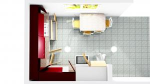 Proiect bucătărie la comandă Norvinia nr.296