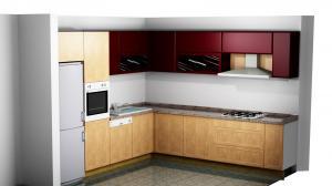 Proiect bucătărie la comandă Norvinia nr.290