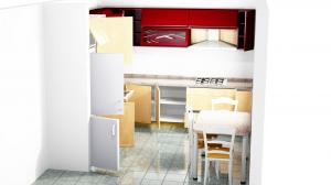 Proiect bucătărie la comandă Norvinia nr.294