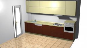Proiect bucătărie la comandă Norvinia nr.32