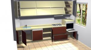 Proiect bucătărie la comandă Norvinia nr.33