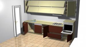 Proiect bucătărie la comandă Norvinia nr.31