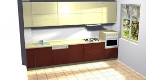 Proiect bucătărie la comandă Norvinia nr.34
