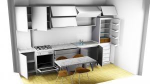 Proiect bucătărie la comandă Norvinia nr.325