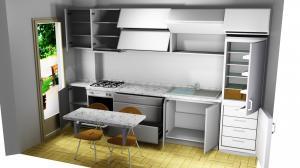 Proiect bucătărie la comandă Norvinia nr.323