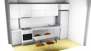 Proiect bucătărie la comandă Norvinia nr.320