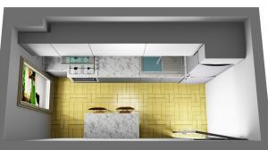 Proiect bucătărie la comandă Norvinia nr.322