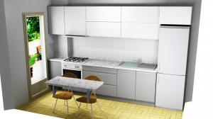 Proiect bucătărie la comandă Norvinia nr.324