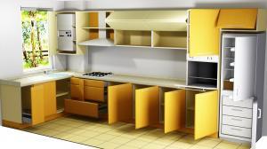 Proiect bucătărie la comandă Norvinia nr.332