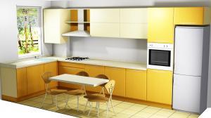 Proiect bucătărie la comandă Norvinia nr.330