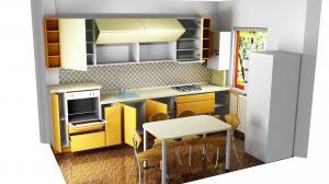 Proiect bucătărie la comandă Norvinia nr.341