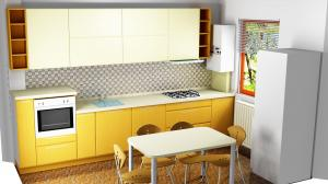 Proiect bucătărie la comandă Norvinia nr.340