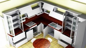 Proiect bucătărie la comandă Norvinia nr.364