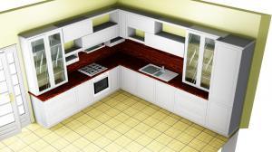 Proiect bucătărie la comandă Norvinia nr.362