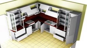 Proiect bucătărie la comandă Norvinia nr.361
