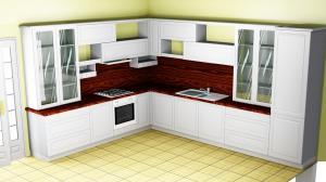 Proiect bucătărie la comandă Norvinia nr.360