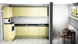 Proiect bucătărie mică la comandă Norvinia nr.372