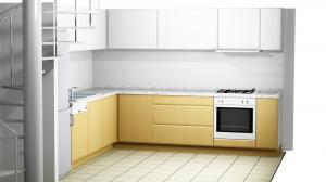 Proiect bucătărie la comandă Norvinia nr.382