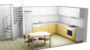 Proiect bucătărie la comandă Norvinia nr.380