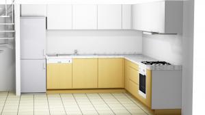 Proiect bucătărie la comandă Norvinia nr.383