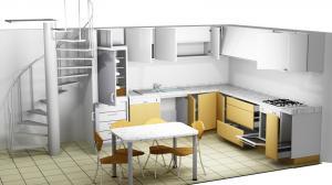 Proiect bucătărie la comandă Norvinia nr.381
