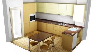 Proiect bucătărie la comandă Norvinia nr.390