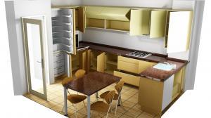 Proiect bucătărie la comandă Norvinia nr.391