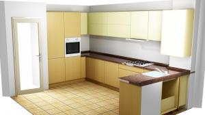 Proiect bucătărie la comandă Norvinia nr.392