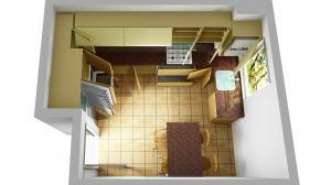 Proiect bucătărie la comandă Norvinia nr.396