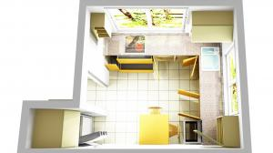 Proiect bucătărie la comandă Norvinia nr.415