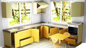 Proiect bucătărie la comandă Norvinia nr.411