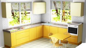 Proiect bucătărie la comandă Norvinia nr.410