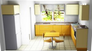 Proiect bucătărie la comandă Norvinia nr.412