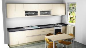 Proiect bucătărie la comandă Norvinia nr.460