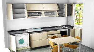 Proiect bucătărie la comandă Norvinia nr.461