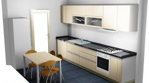 Proiect bucătărie la comandă Norvinia nr.464