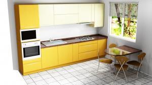 Proiect bucătărie mică la comandă Norvinia nr.470