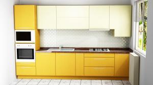 Proiect bucătărie mică la comandă Norvinia nr.472
