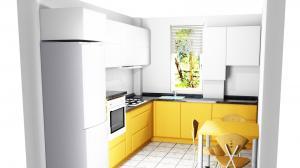 Proiect bucătărie la comandă Norvinia nr.483