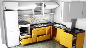 Proiect bucătărie la comandă Norvinia nr.481