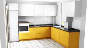 Proiect bucătărie la comandă Norvinia nr.482