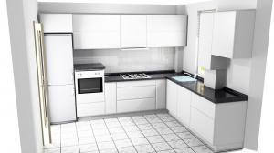 Proiect bucătărie la comandă Norvinia nr.491