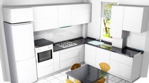 Proiect bucătărie la comandă Norvinia nr.490