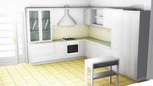 Proiect bucătărie la comandă Norvinia nr.503