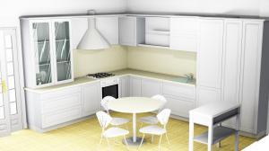 Proiect bucătărie la comandă Norvinia nr.500