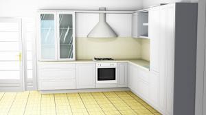 Proiect bucătărie la comandă Norvinia nr.501
