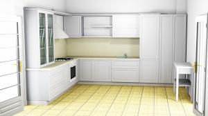 Proiect bucătărie la comandă Norvinia nr.502